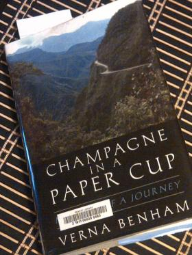 Champagne In A Paper Cup: Memoir Of A Journey by Verna Benham