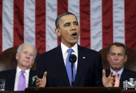 President Obama's 2013 State of the Union.
