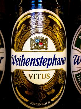 "Cory Vilhauer calls Weihenstephaner's Vitus a ""five star"" beer."