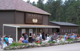 The Black Hills Playhouse is located in Custer State Park.
