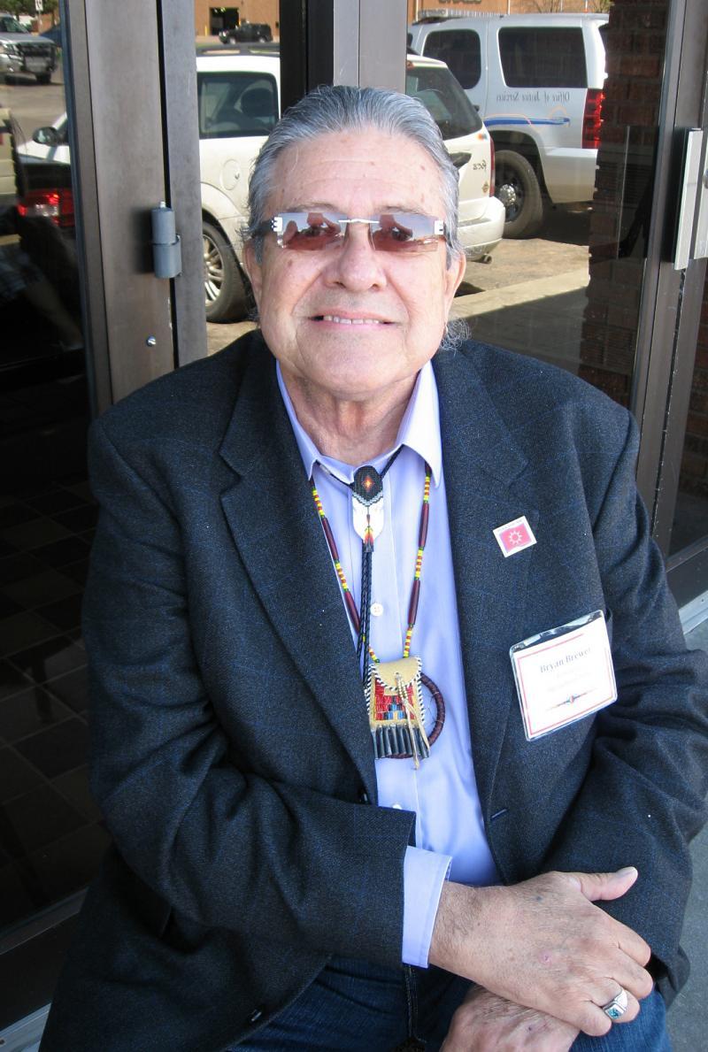 Oglala Sioux Tribe President Bryan Brewer