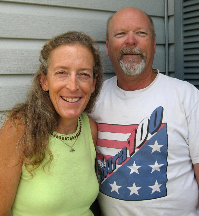Filmmaker Randy Ericksen and his wife, Paulette Kirby
