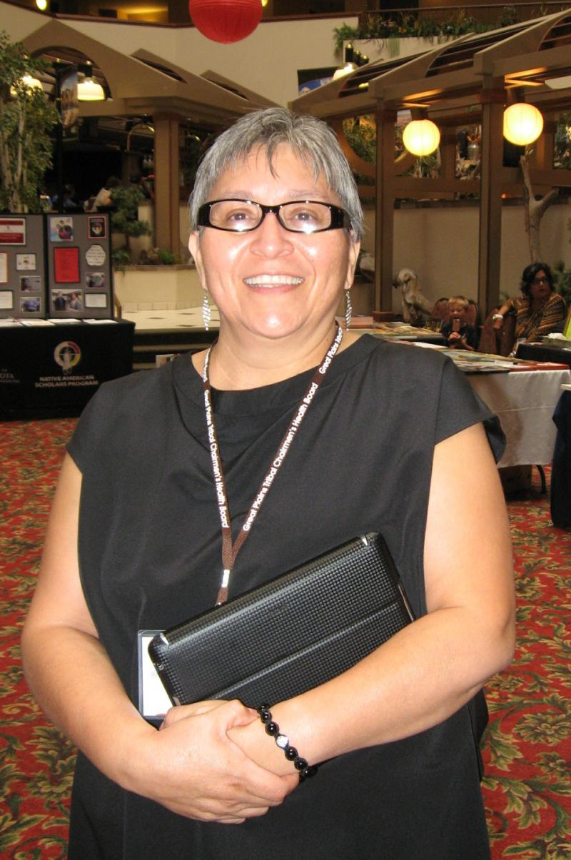 Brenda McGlynn is academic programs coordinator at Great Plains Tribal Chairmen's Health Board and organizer for the summit.