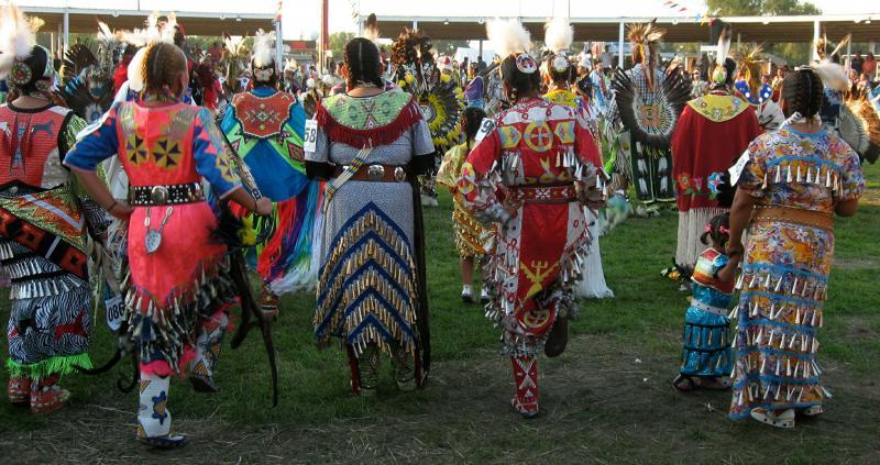 Powwow scene