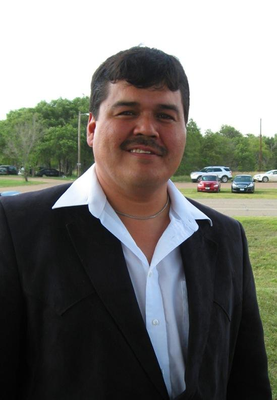 Brandon Sazue is chairman of the Crow Creek Tribe.