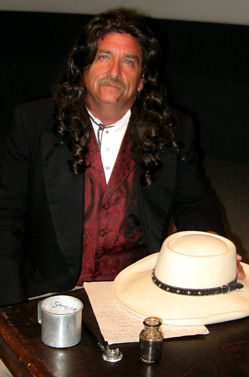 Actor and singer Stephen Branch tells the story of Wild Bill Hickok from the first-person point of view.