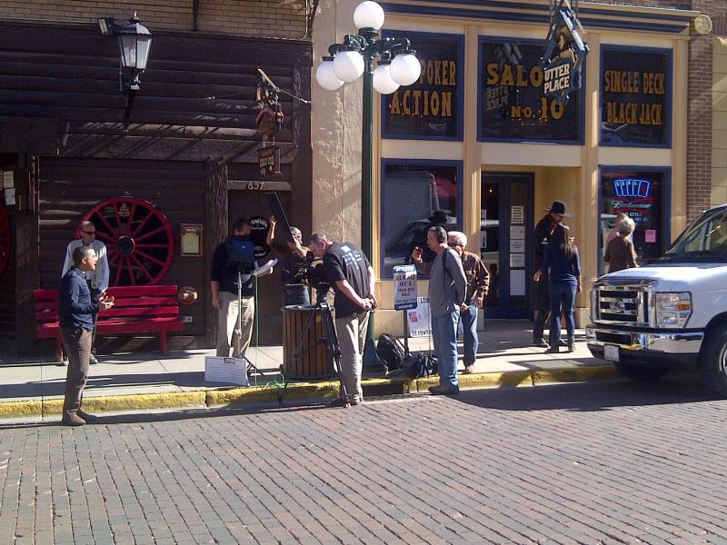 JEOPARDY! Clue Crew on Deadwood Main Street