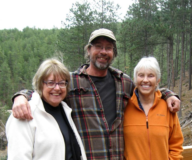 From left, Christine Jones, Andy Smith, and Suzan Nolan
