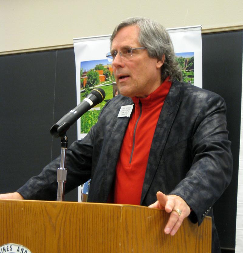 Phil Jensen, current District 33 Senator, at a recent crackerbarrel.