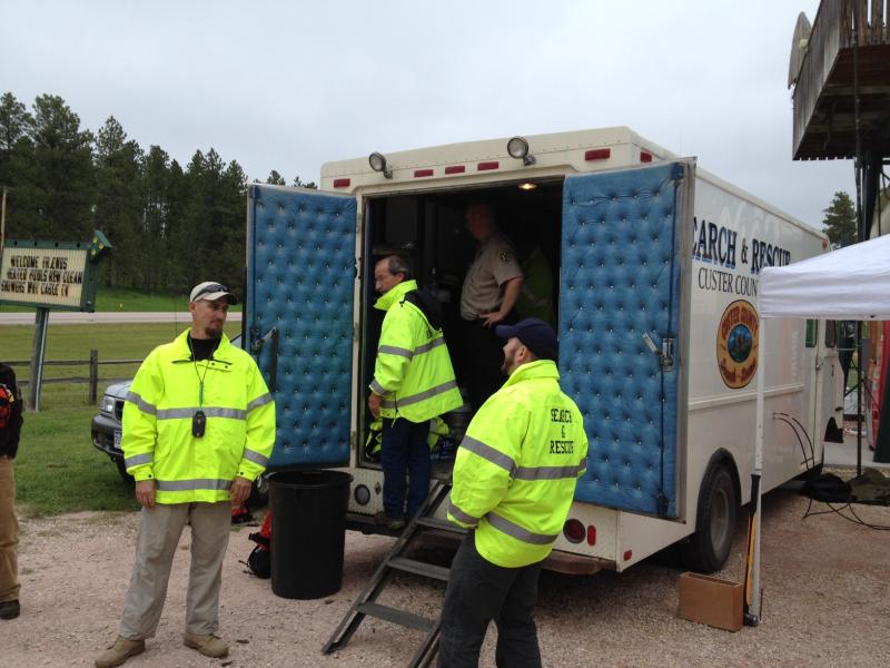Search and rescue efforts underway in Custer County