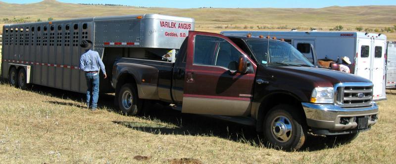 The Varilek Ranch rig.