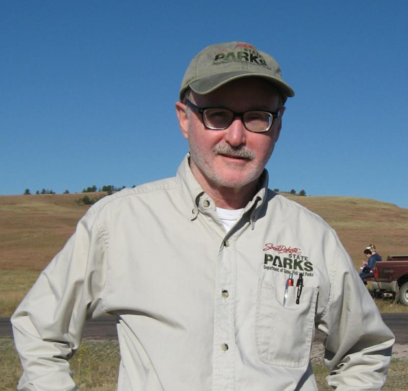 Craig Pugsley has worked 37 bison roundups as visitor services coordinator at the park.