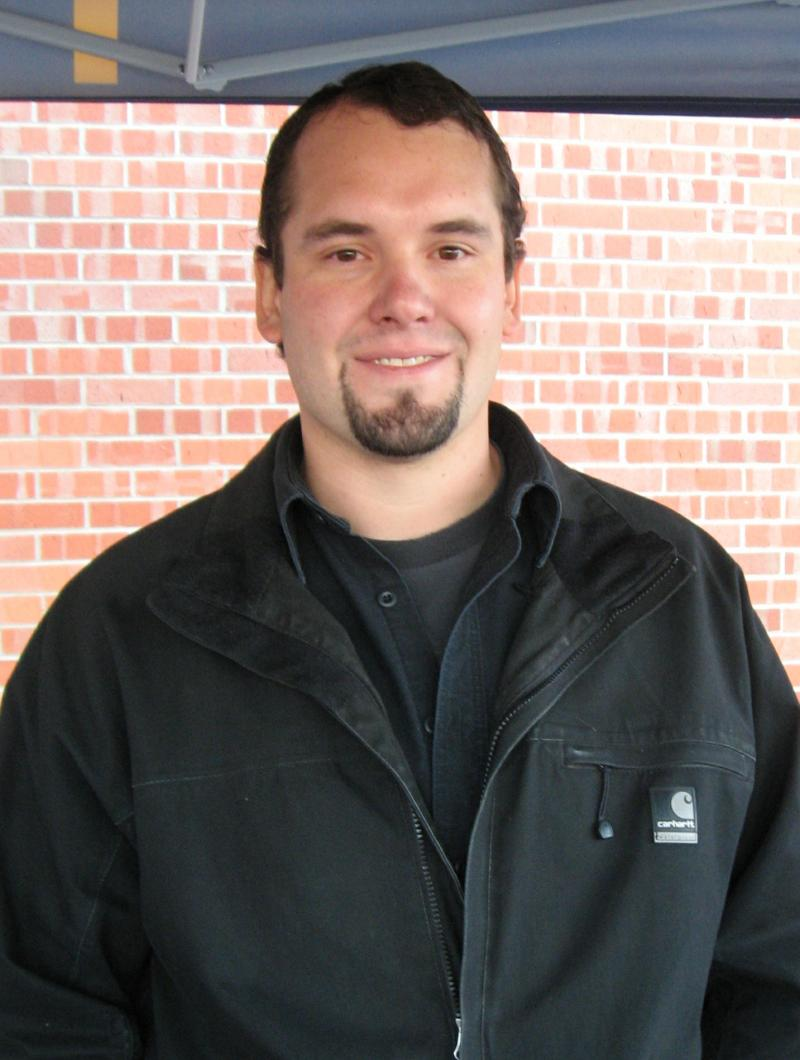 Josh Hammell manages the additive manufacturing lab at the Arbegast Materials Processing Laboratory.