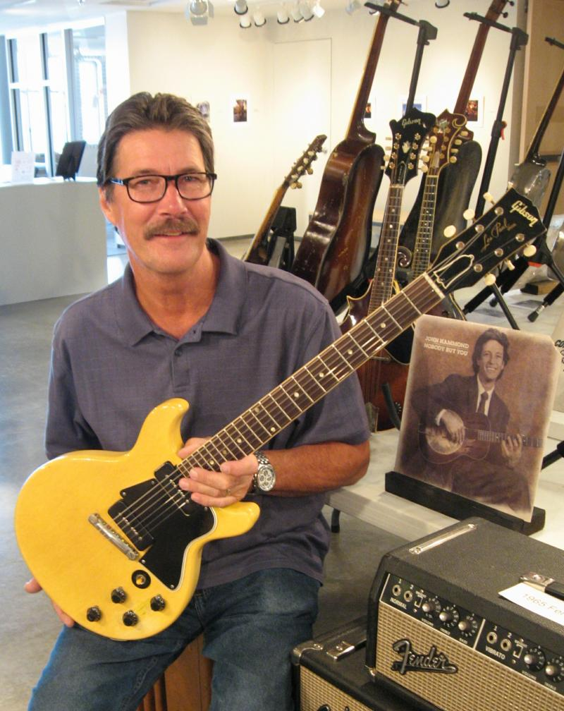 Don Lerdal collects vintage guitars.