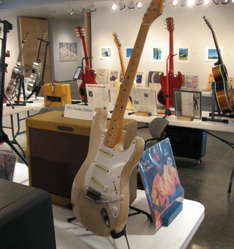 A vintage Fender.