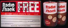 Radio Shack Battery of the Month Club