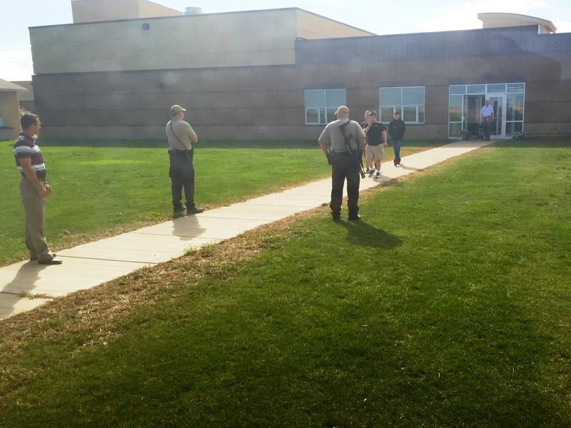 Students evacuate Harrisburg High School