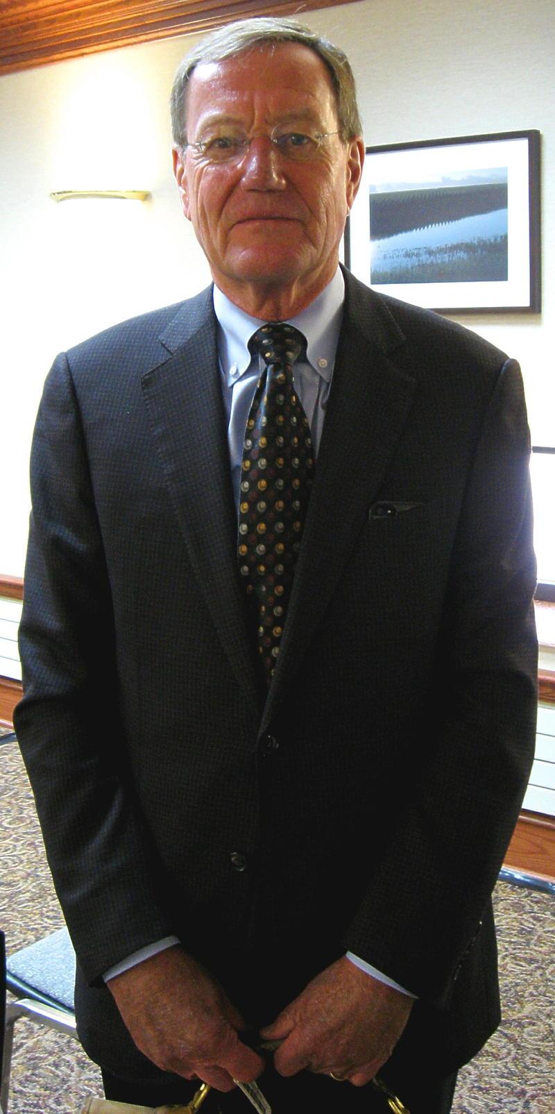 William Taylor represents TransCanada in PUC hearings.