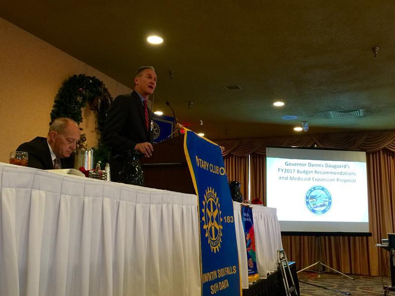 Governor Dennis Daugaard discusses the possibility of medicaid expansion