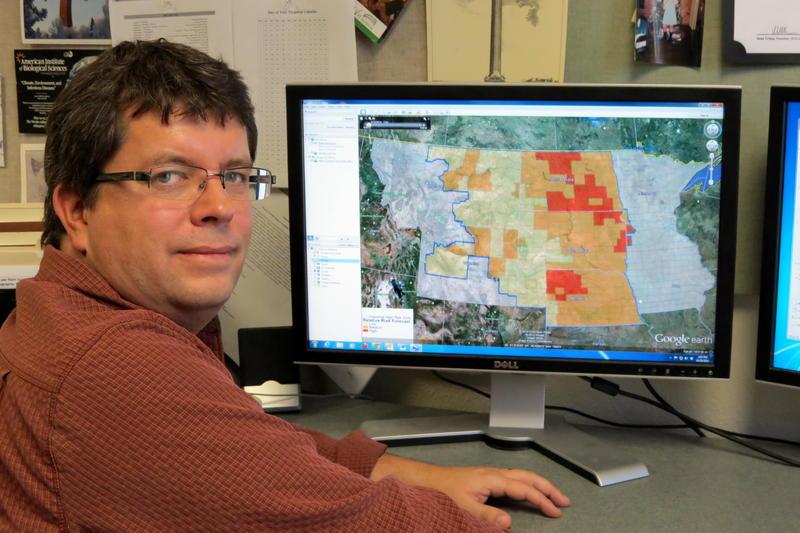 NASA Maps, Mosquito Tracking Help Forecast West Nile Virus Risk | SDPB Radio