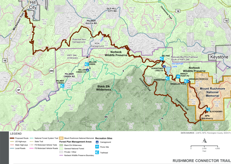 GF P Proposed Trail Could Provide New Access To Mount Rushmore SDPB Radio
