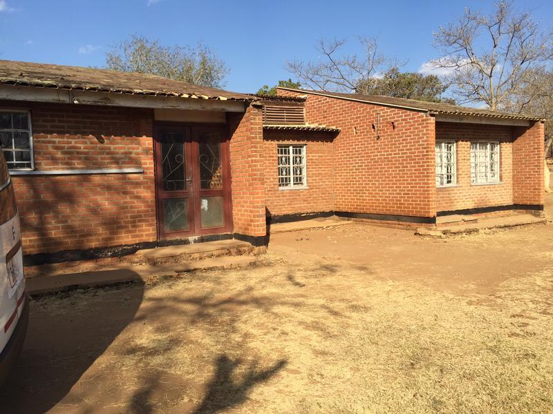 School building in Lilongwe, Malawi