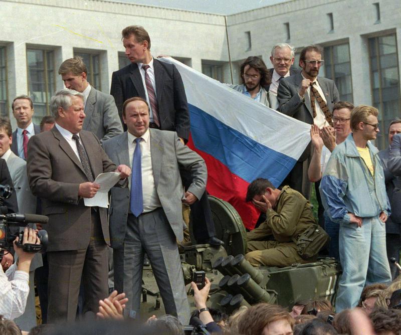 Communist coup, August 1991