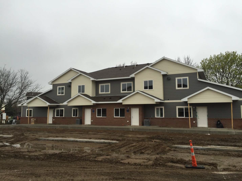 Property similar to a new affordable housing complex in Sioux Falls called Trinity Point.