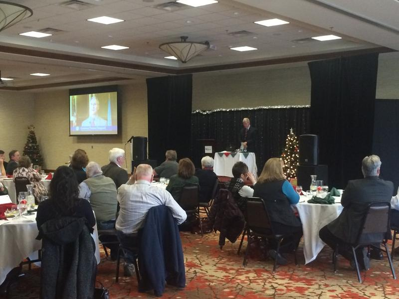 Gowen spoke to members of the Black Hills Forum and Press Club on December 20 in Rapid City.