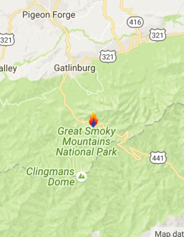 "SD Crew Calls Gatlinburg Wildfire An ""Eye Opener"" 