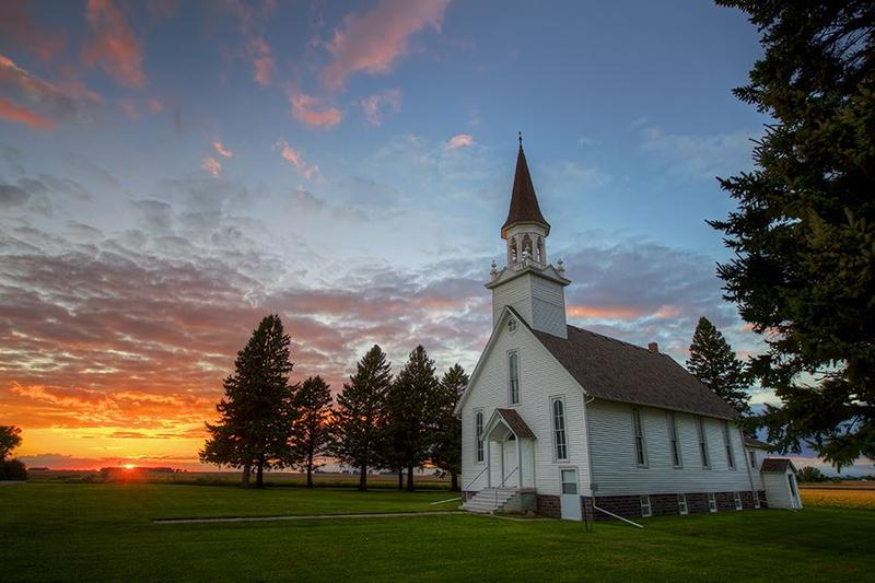 Lone Rock Church, SE of Flandreau SD
