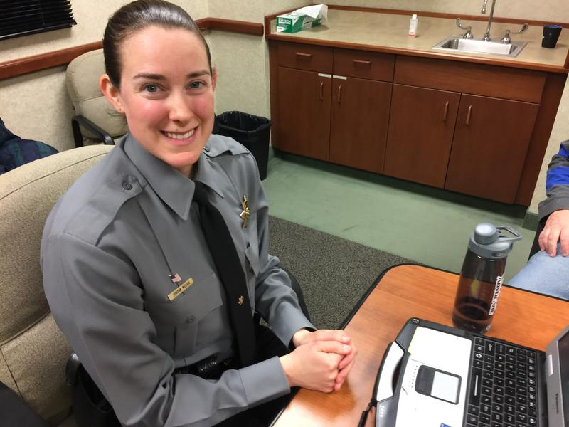 SD Highway Patrol recruit Jordan Melius