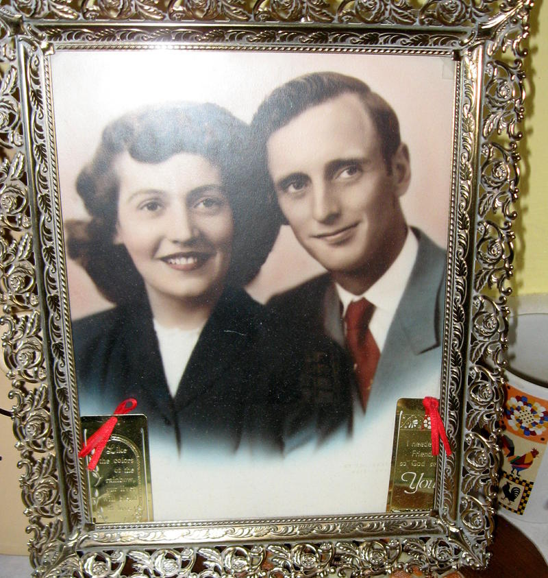 Betty and Gordon Wicks in the early 1950s.