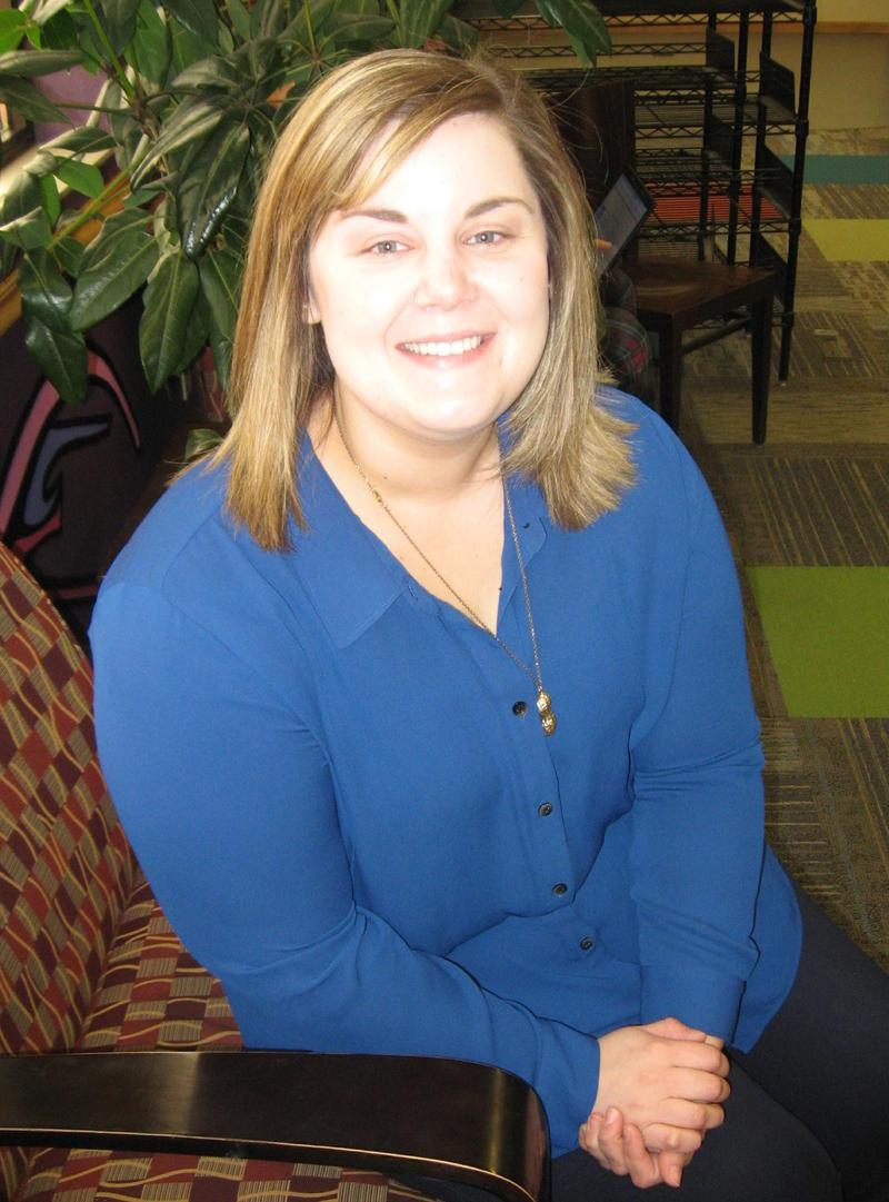 Taylor Calderon, teen librarian