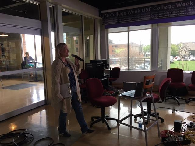 Lori Walsh hosting the JAS Quintet