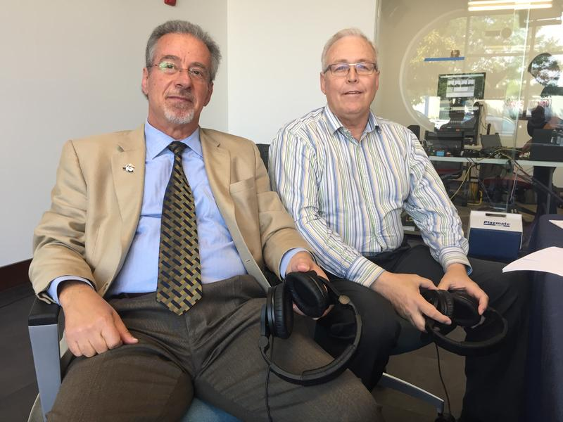 Dr. Demitris Kouris and Dr. Scott Kenner