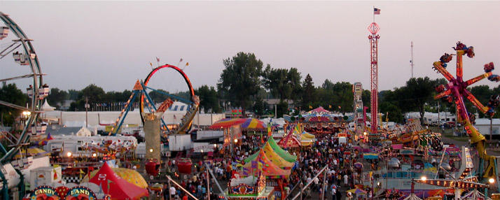 South Dakota State Fair Midway