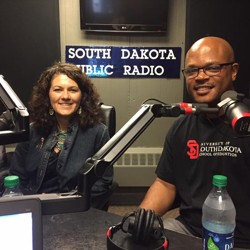 Paige Carda & Dr. Derrick Robinson