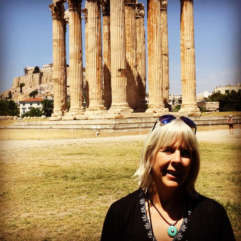 Deborah Mitchell in Athens