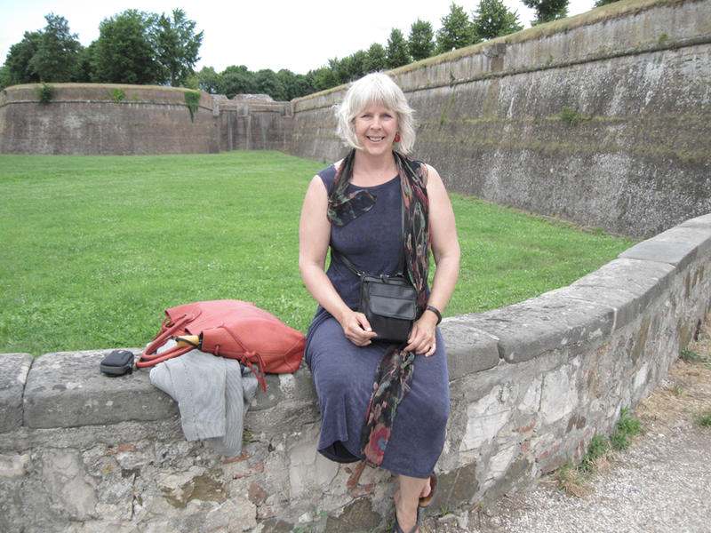 Deborah Mitchell in Italy
