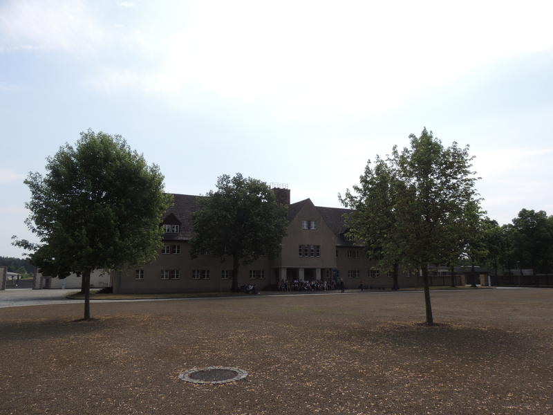 Administration building at Ravensbruck, where the SS ran the concentration camp