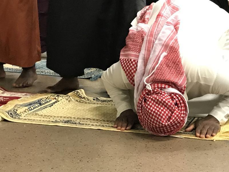 South Dakota Muslims pray at Augustana Lutheran Church in Sioux Falls