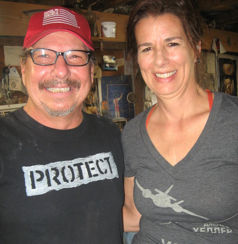 Kevin Pourier and Valerie Morgan