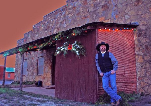 Michael Martin Murphey has performed at the Cowboys' Christmas Ball in Anson, Texas for 20 years