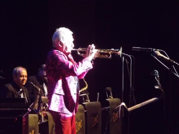 Doc Severinsen performing at Rapid City's Civic Center Theater.