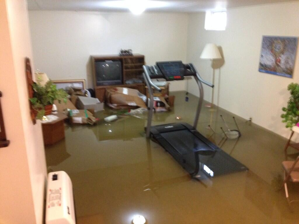 kimball 39 s basement flooded the water was higher during the worst of