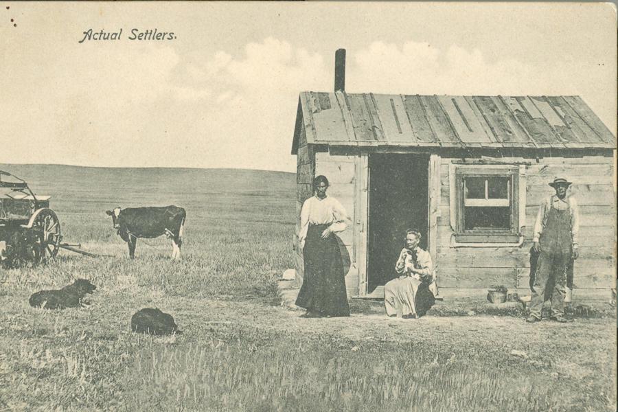 Exhibit Highlights South Dakota Homesteaders Sdpb Radio