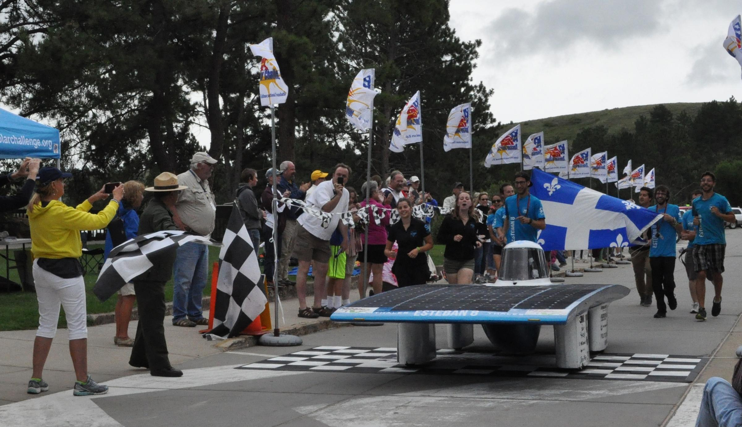 Solar Car Rally Reaches Finish Line At Wind Cave