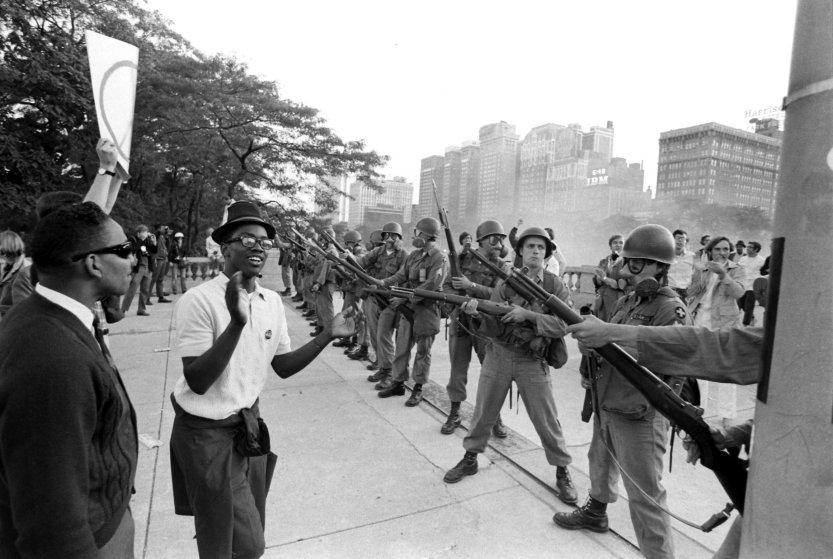 50 Years From The Democratic National Convention In Chicago
