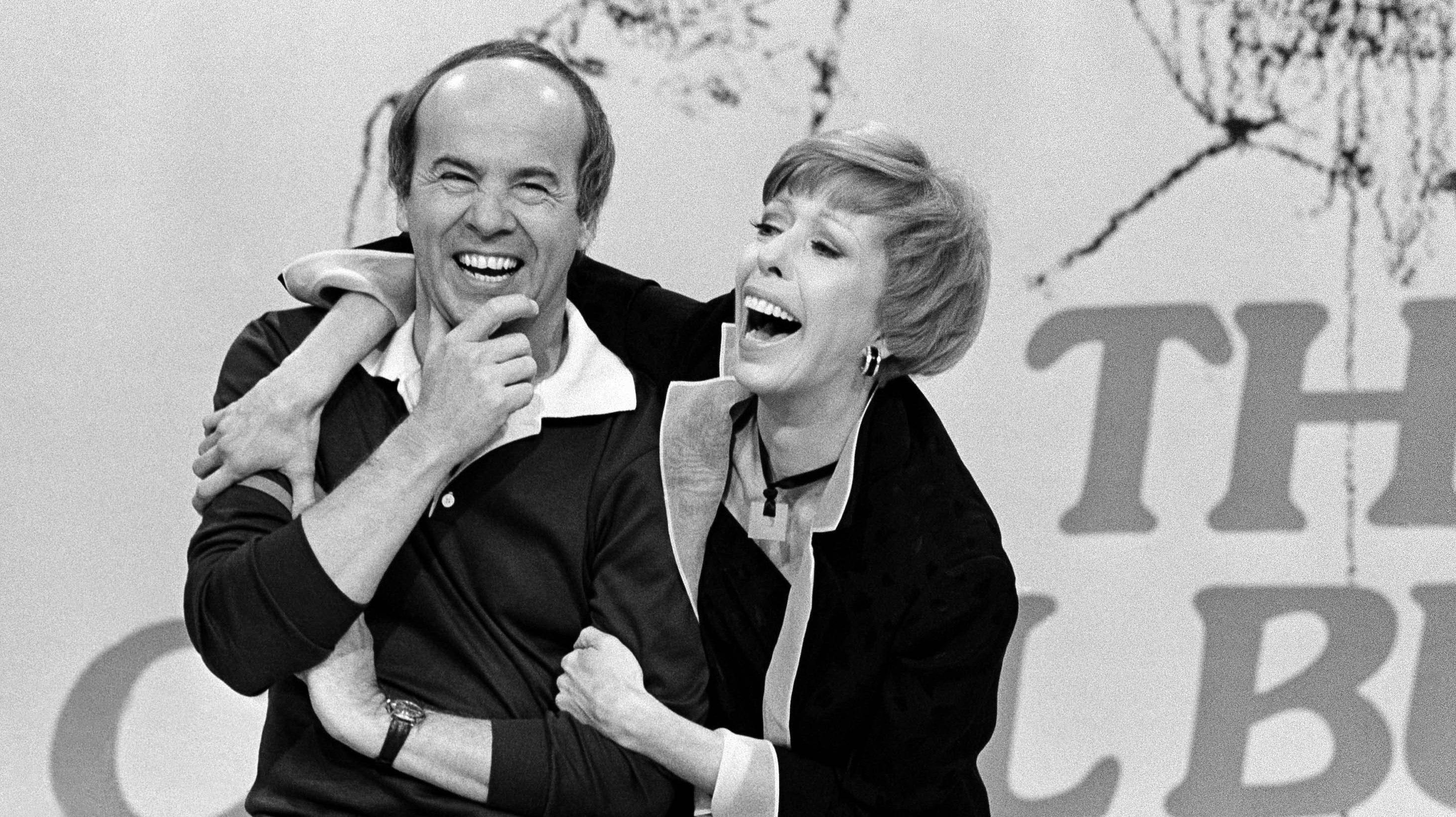 Carol Burnett and tim conway